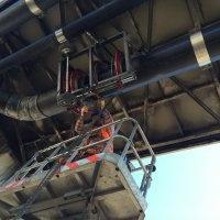 ZETES III 1400 MW TERMİK SANTRALİ DENİZ SUYU HATLARININ YANGIN HATTI KONVEYÖR ALTI KELEPÇELİ MONTAJ İŞİ