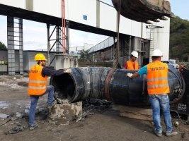 ZETES III 1400 MW TERMİK SANTRALİ DENİZ SUYU HATLARININ YANGIN HATTI PROCESS HATTI MONTAJ VE DEPLASE İŞLERİ